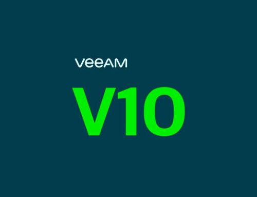 Ya está disponible Veeam Availability Suite v10